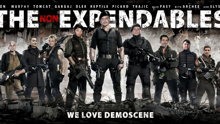The Non-Expendables Freestyle graphics